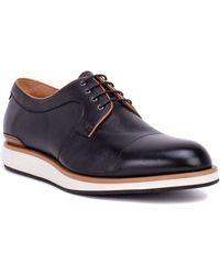 Zanzara Leather Oxford - Black