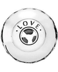 PANDORA Essence Collection Silver Openwork Love Charm - Metallic