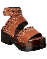 3.1 Phillip Lim Leather Sandal - Brown