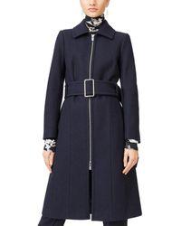 Club Monaco Vittoriah Wool-blend Coat - Blue
