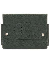 Hermès Vintage Green Clemence Card Case