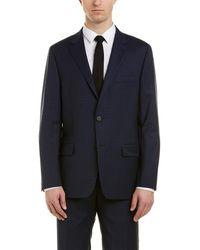 Hickey Freeman Milburn Ii Wool Suit - Blue