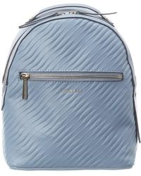 Fiorelli Anouk Leather Backpack - Blue