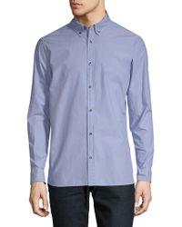 Calvin Klein Jeans - Casual Cotton Button-down Shirt - Lyst