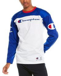 Champion Plaited Football Jersey - White