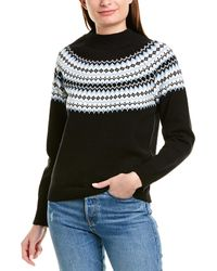 BCBGeneration Fairisle Jumper - Black
