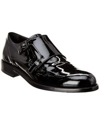 Tod's Tod?s Double Monk Patent Oxford - Black