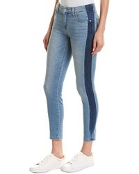 7 For All Mankind 7 For All Mankind Gwenevere Bona Ankle Cut - Blue
