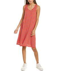 Michael Stars Becca Tank Dress - Red