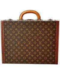 Louis Vuitton Monogram Canvas President Classeur - Brown