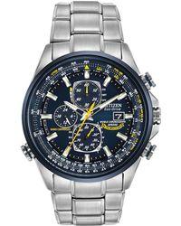 Citizen Men's Blue Angels World Chronograph A-t Watch
