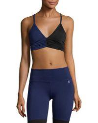 Body Language Sportswear - Scrunchy Sports Bra - Lyst
