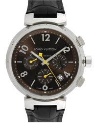 Louis Vuitton Louis Vuitton 2000s Men's Tambour Watch - Metallic