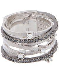 Marco Bicego - Goa 18k 0.41 Ct. Tw. Diamond Multi-strand Ring - Lyst