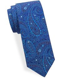 Saks Fifth Avenue - Tonal Paisley Silk Tie - Lyst