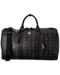 MCM Traveller Visetos Duffel Bag - Black