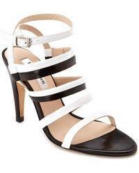 L.K.Bennett L.k. Bennett Giselle Leather Sandal - White