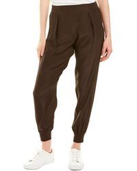 ATM Woven Silk Pant - Brown