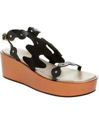 Ivy Kirzhner Figaro Platform Sandal - Black