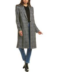 ESCADA Mochachek Wool & Alpaca-blend Coat - Black