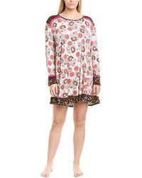 Kensie Plus Sleepshirt - Pink