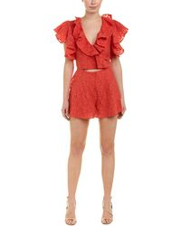 fd575eb4ec8 Lyst - Free People Desert Daisy Romper By Spell And The Gypsy ...