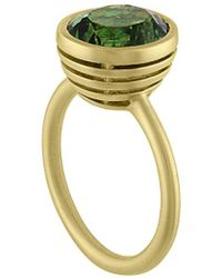Tate - 18k 4.45 Ct. Tw. Green Tourmaline Ring - Lyst