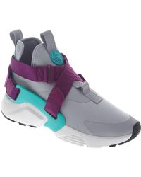 Nike Air Huarache City Running Shoes - Gray