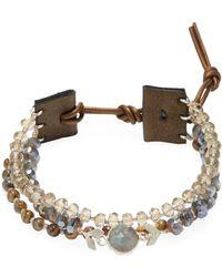 Chan Luu - Base Metal Bracelet With Semi Precious Stones - Lyst