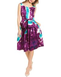 Samantha Sung Rachel Dress - Purple