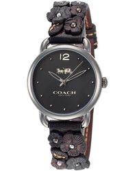COACH Delancey Watch - Black