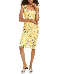 Alexia Admor Arianna Sheath Dress - Yellow
