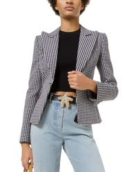 Michael Kors Wool-blend Blazer - Black