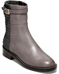 Cole Haan Lexi Leather Bootie - Brown