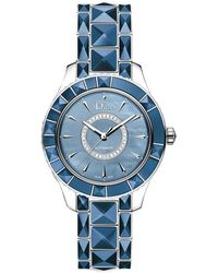 Dior Christal Diamond Watch - Blue