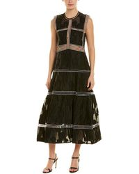 Alexis Karim Midi Dress - Black