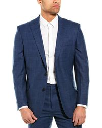 Brooks Brothers Explorer Regent Fit Wool-blend Sport Coat - Blue