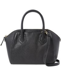 Rebecca Minkoff - Perry Micro Leather Satchel - Lyst