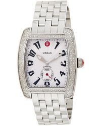 Michele Women's Urban Diamond Watch - Metallic
