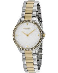 COACH - Women's Astor Watch - Lyst