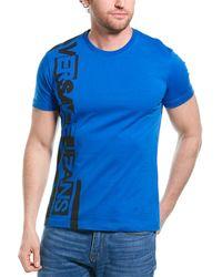 Versace Jeans Graphic T-shirt - Blue