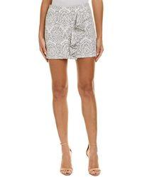 Maje - Jacquard Pencil Skirt - Lyst