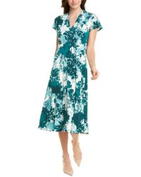 Maggy London A-line Dress - Blue
