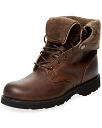 Vintage Shoe Company - Dagan Leather Lace-up Boot - Lyst