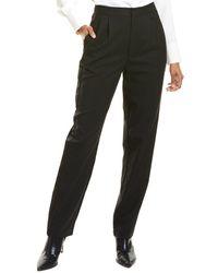 Ronny Kobo Dierdre Tuxedo Wool-blend Pant - Black