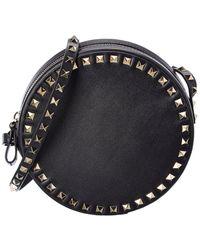 Valentino Garavani Rockstud Round Leather Shoulder Bag - Multicolour
