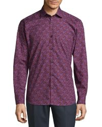 Jared Lang - Casual Cotton Button-down Shirt - Lyst
