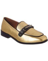 Newbark Melanie Leather Loafer - Yellow