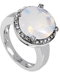 Poiray 18k 5.20 Ct. Tw. Diamond & Quartz Ring - Multicolour