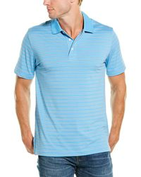 Brooks Brothers Striped Polo Shirt - Blue